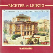 Richter in Leipzig : The complete recital of November 28, 1963