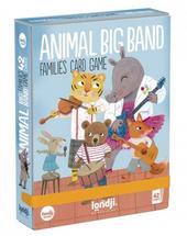 Animal big band : families card game