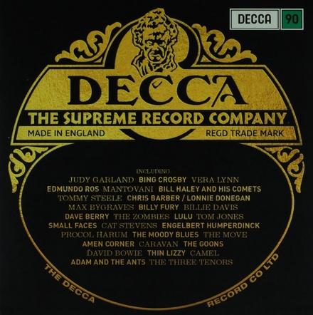 Decca : The supreme record company