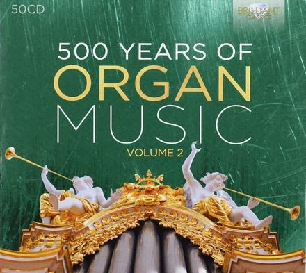 500 years of organ music volume 2. vol.2