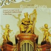 Gerwin van der Plaats bespeelt het orgel van de Evangelisch Lutherse Kerk in Den Haag