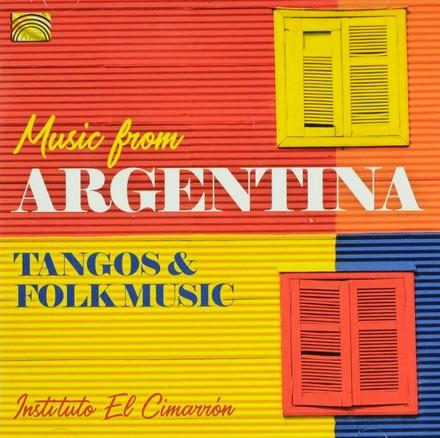 Music from Argentina : tangos & folk music