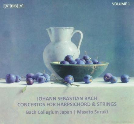 Concertos for harpsichord & strings. Vol.1
