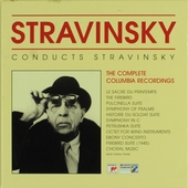 Stravinsky conducts Stravinsky : The complete Columbia recordings