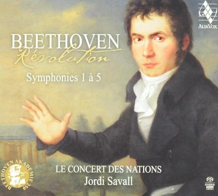 Révolution : symphonies 1 à 5