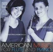 Amercian music for flute and piano
