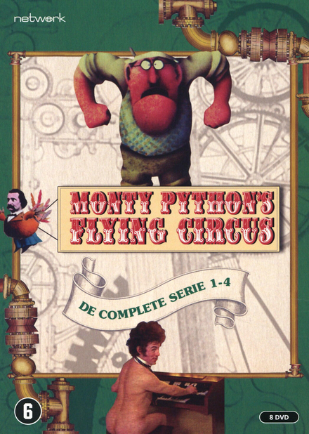 Monty Python's flying circus. de complete serie 1-4