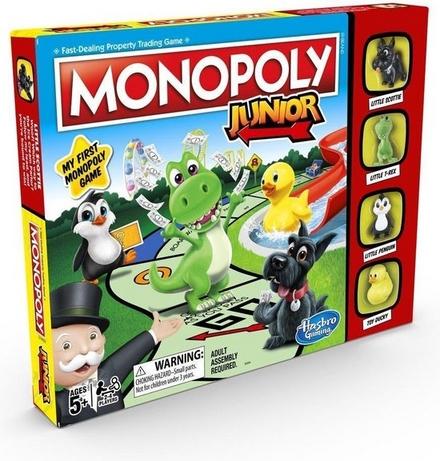 Monopoly junior : Mijn eerste monopoly spel