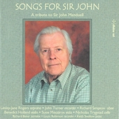 Songs for Sir John : A tribute to Sir John Manduell inspired by William Butler Yeats