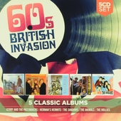 60's british invasion ; Ferry cross the Mersey ; Herman's hermits ; The shadows ; The animals ; Stay with the holli...
