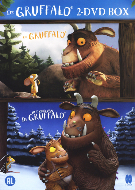 De gruffalo : 2dvd box