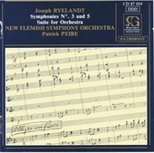 Symphonies no 3 and 5 - Suite for orchestra