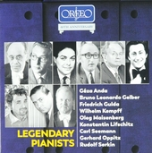 Legendary pianists : Orfeo 40th anniversary