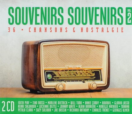 Souvenirs souvenirs : 36 chansons nostalgie. vol.2
