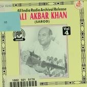 Ali Akbar Khan : An all India Radio Archival Release. vol.4