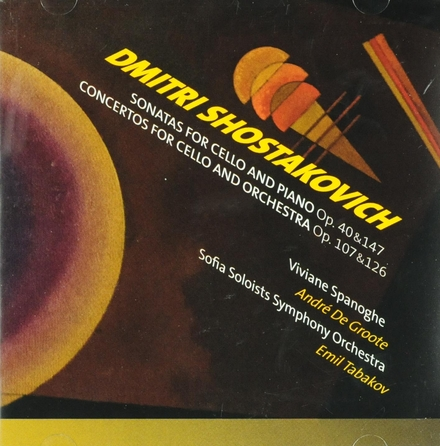 Sonatas for cello and piano op.40 & 147
