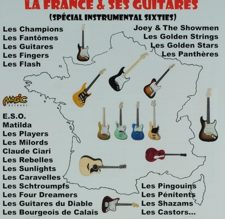 La France & ses guitares : Spécial instrumental sixties