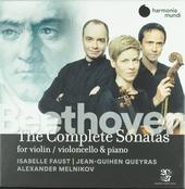 The complete sonatas for violin violoncello & piano