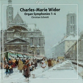 Organ symphonies 1-4