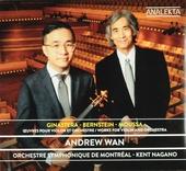Ginastera, Bernstein, Moussa : Oeuvres pour violon et orchestre