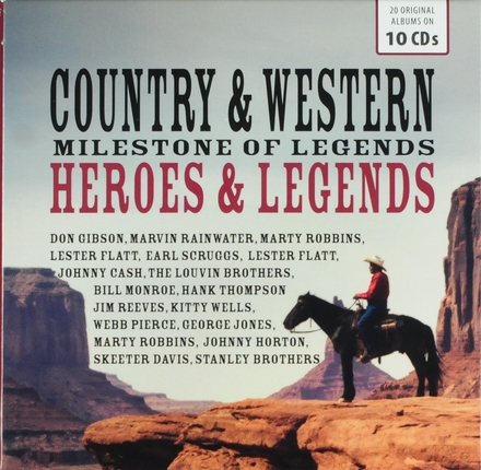 Country & western heroes & legends : Milestone of legends