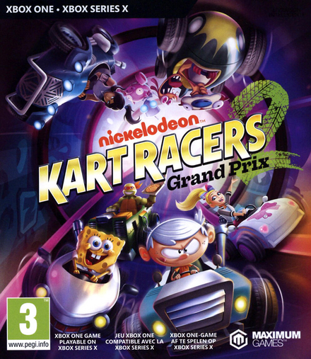 Nickelodeon Kart Racers 2 : grand prix