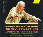 Piano & violin concertos