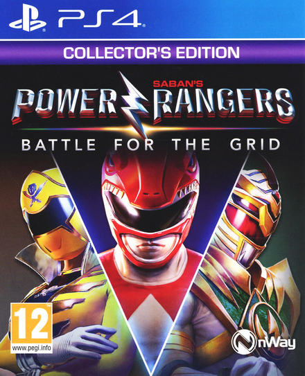 Saban's Power rangers : battle for the grid