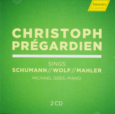 Christoph Prégardien sings Schumann Wolf Mahler
