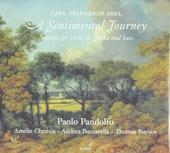 A sentimental journey : sonatas for viola da gamba and bass