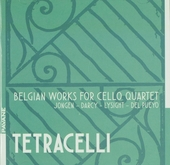 Belgian works for cello quartet