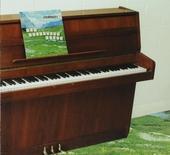 The sophtware slump... on a wooden piano