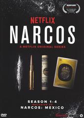 Narcos. Season 1-4, inclusive of Narcos : Mexico