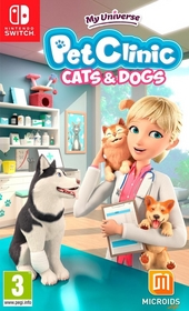 My universe : pet clinic : cats & dogs