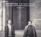 The violin sonatas : Sonatas 5-7
