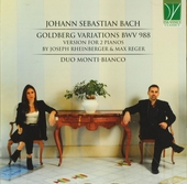 Goldberg variations BWV 988 : Version for 2 pianos by Joseph Rheinberger & Max Reger