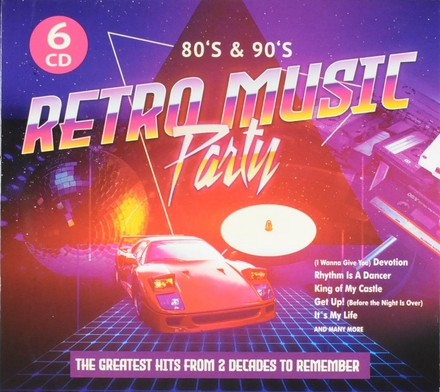 Retro music party : 80s & 90s