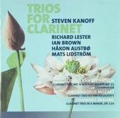 Trios for clarinet