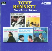 Five classic albums : Cloud 7 ; The beat of my heart ; Hometown, my town ; Count Basie swings, Tony Bennett sings ;...