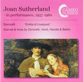 Joan Sutherland in performance, 1957-1960