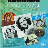 Concentratin' on you : Her 51 finest 1931-1959