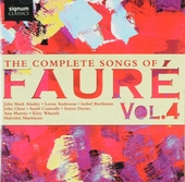 The complete songs of Fauré Vol.4. vol.4