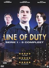 Line of duty. Serie 1-5 compleet