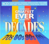 Greatest ever decades 70s 80s 90s 00s