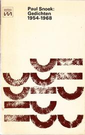Gedichten 1954-1968