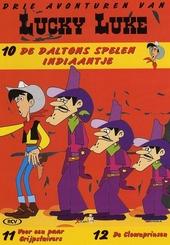 De Daltons spelen Indiaantje ; Voor een paar grijpstuivers ; De clownprinsen