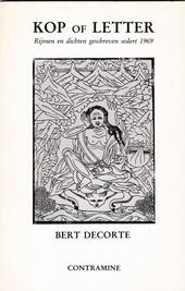 Kop of letter : rijmen en gedichten geschreven sedert 1969