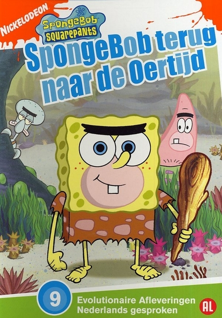 SpongeBob terug naar de oertijd