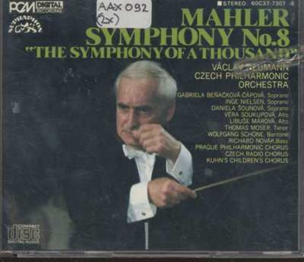 "Symphony No. 8 in e-flat major ""The symphony of a thousand"""
