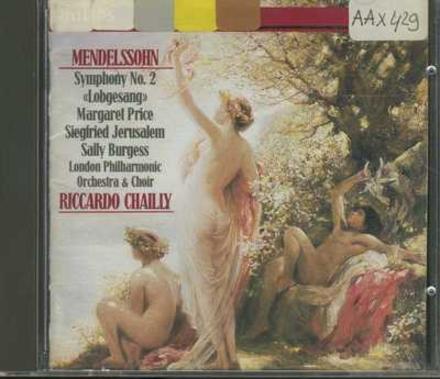 """Symphony no.2 in B flat, op.52 """"Hymn of Praise"""""""